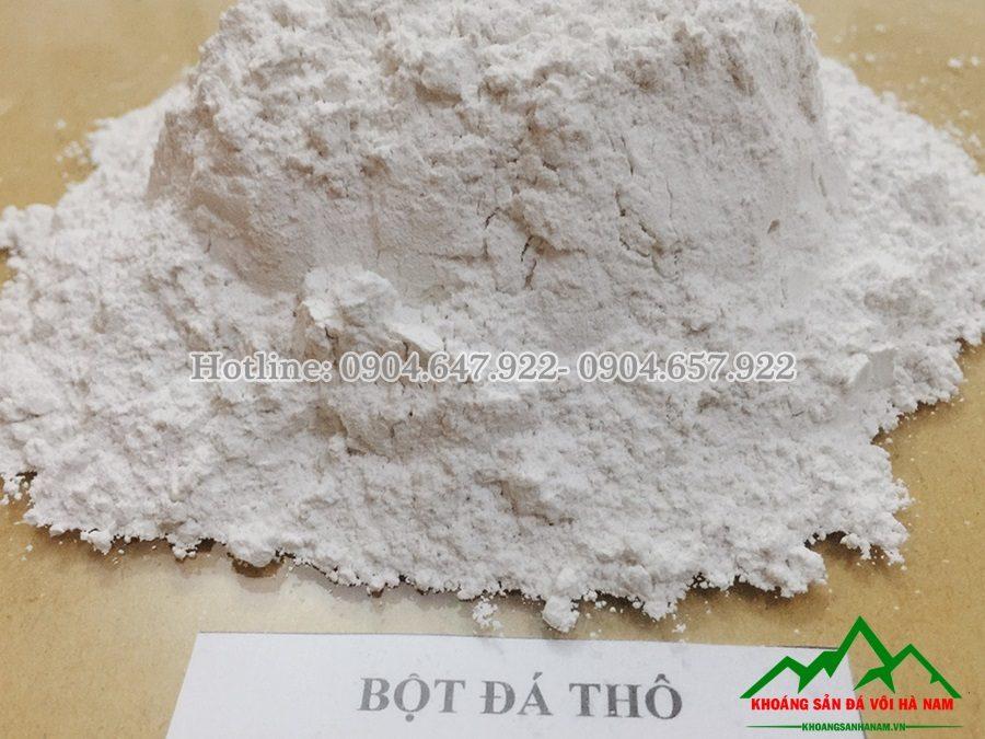 bột đá thô caco3 sản xuất tại hà nam