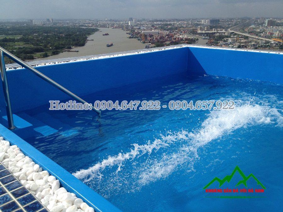 cung cấp sỏi rải hồ bơi