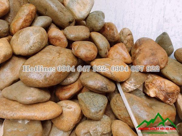 đá cuội vàng tự nhiên