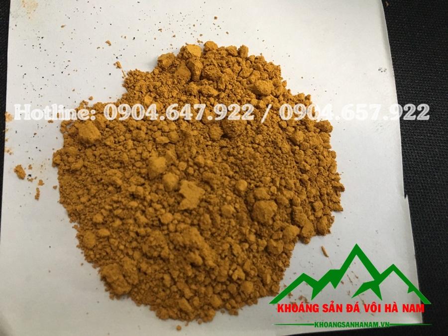 bột màu oxit sắt vàng