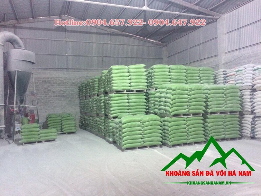 bột đá caco3 đóng gói 50kg