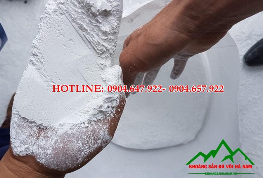 bột đá trắng CaCO3