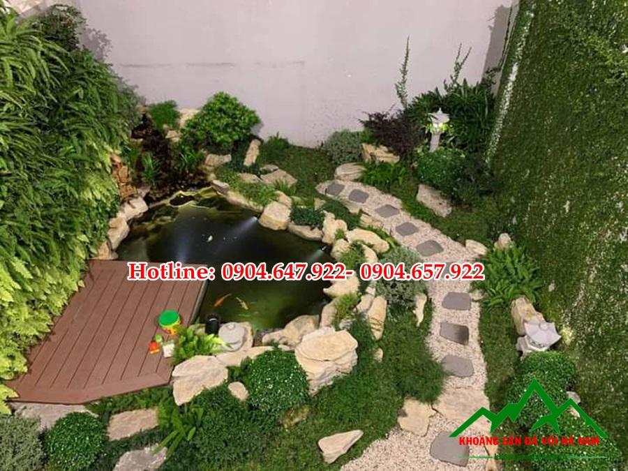 Báo giá sỏi trang trí tiểu cảnh sân vườn