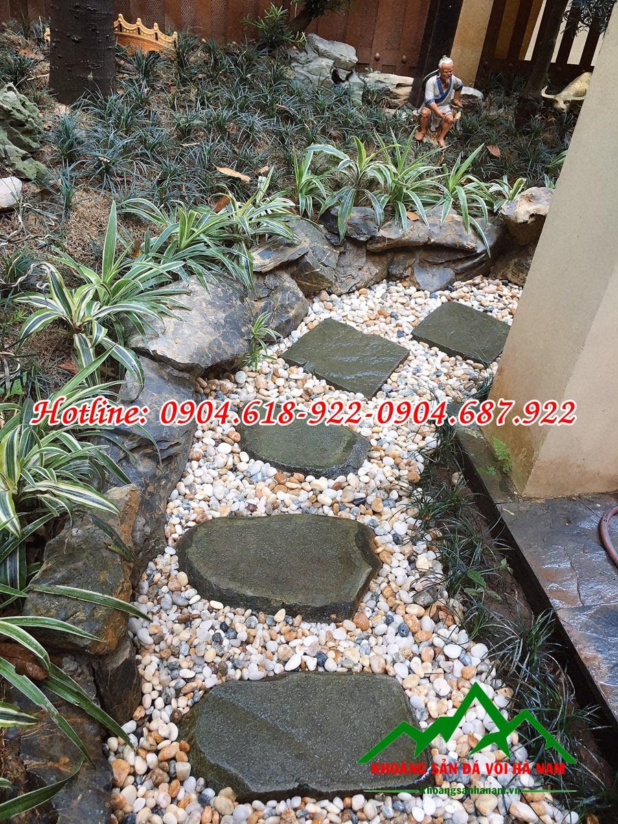 Thiết kế thi công sỏi trang trí sân vườn đẹp 10