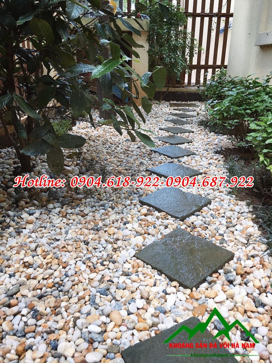 Thiết kế thi công sỏi trang trí sân vườn đẹp 4