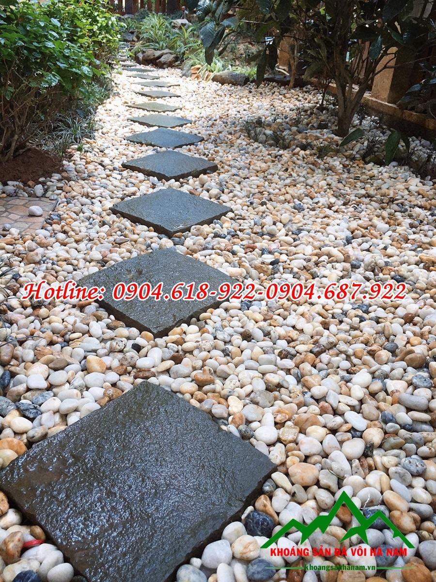 Thiết kế thi công sỏi trang trí sân vườn đẹp 2