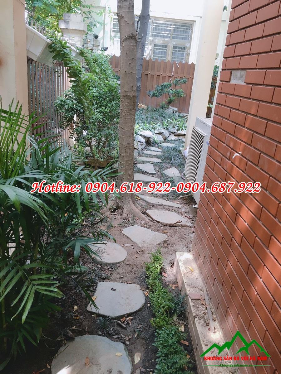 Thiết kế thi công sỏi trang trí sân vườn đẹp