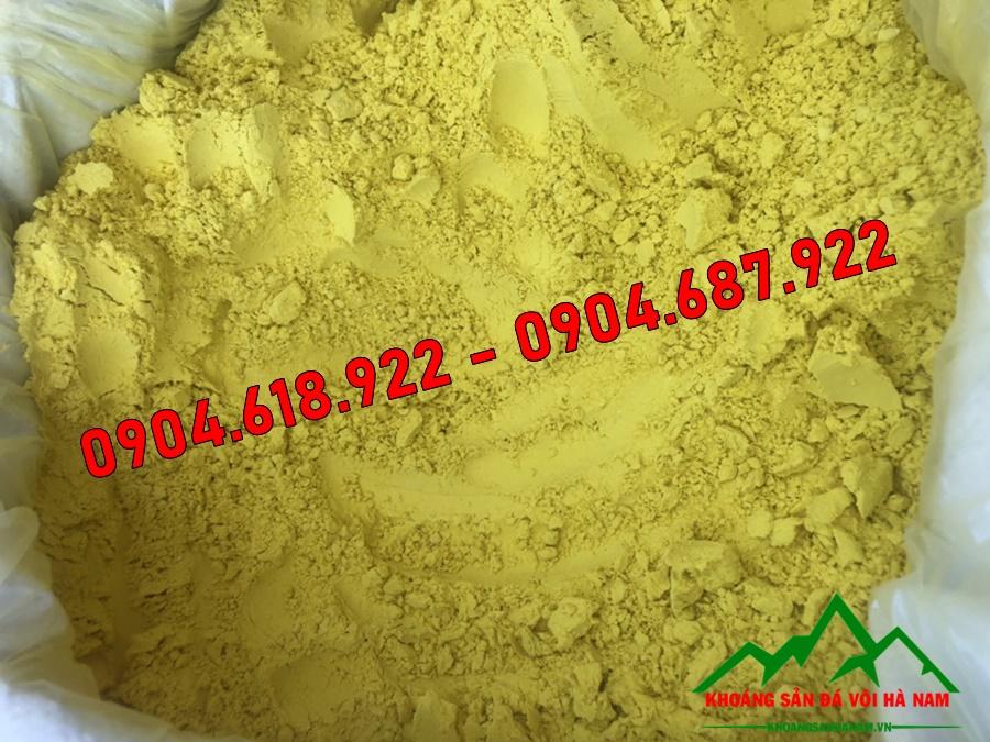bột màu oxit sắt vàng chanh