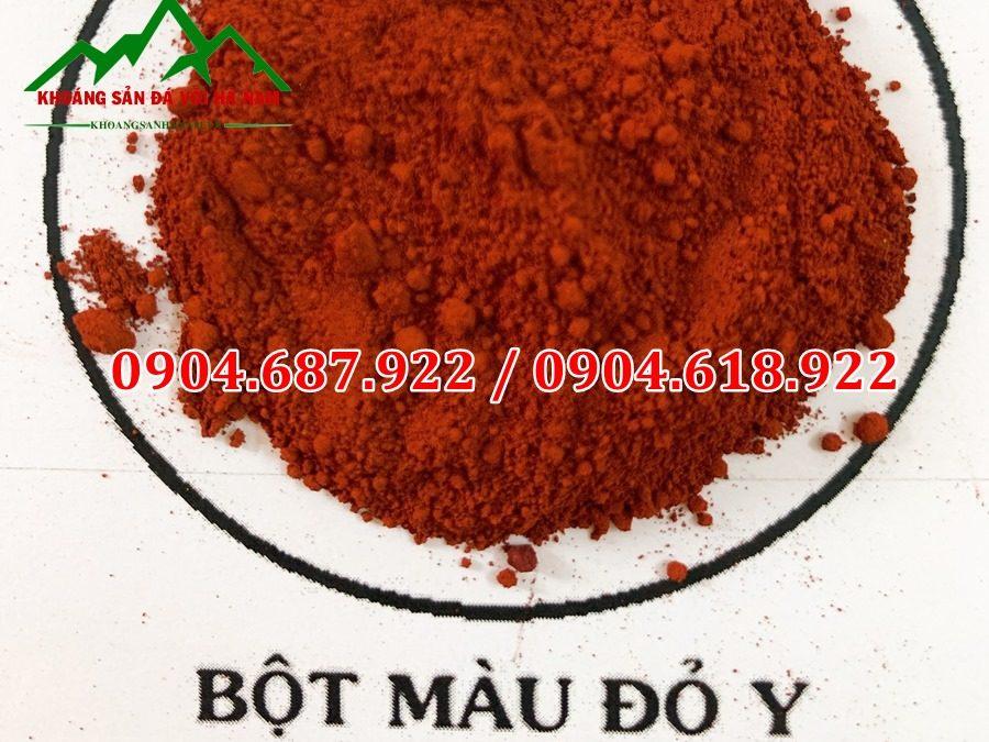 bột màu đỏ y101