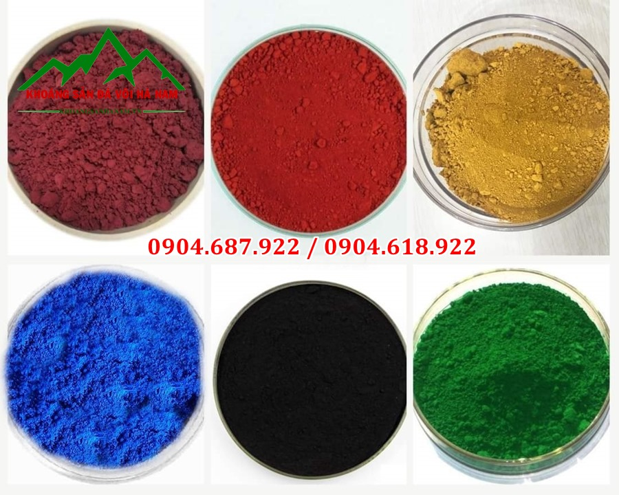 bột màu oxit sắt tại tp.hcm