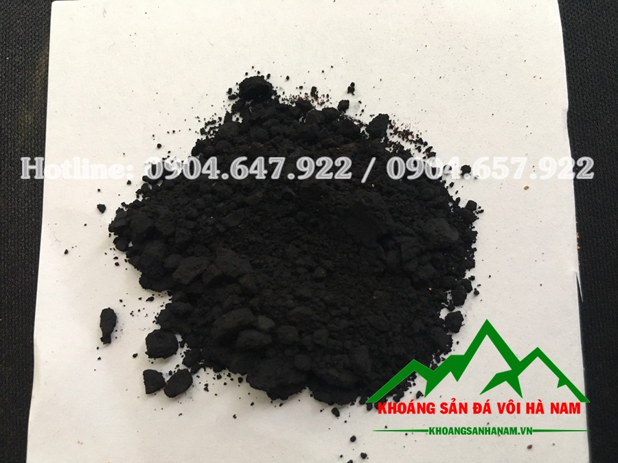 bột màu oxit sắt đen